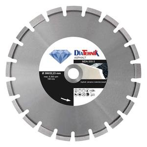 Disc diamantat Asphalt 350 x 25.40 mm pentru asfalt si materiale abrazive