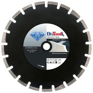 Disc diamantat AsphaltMAX 400 x 25.40 mm pentru asfalt, beton