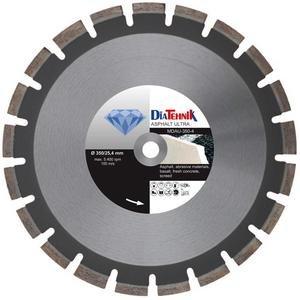 Disc diamantat AsphaltULTRA 350 x 25.4 mm pentru asfalt, beton proaspat si materiale abrazive