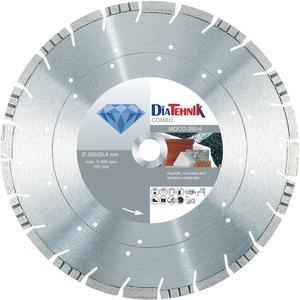 Disc diamantat Combo 350 x 25.40 mm pt asfalt, beton, granit