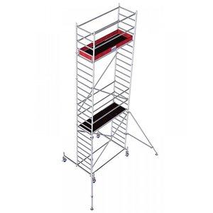 Schela mobila Stabilo S10 0,75 x 2m, aluminiu, inaltime lucru 7,4m