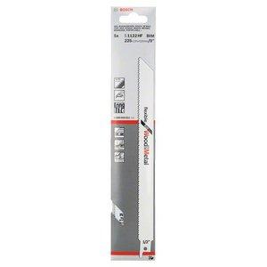 5 Panze pentru fierastraie sabie, tip S 1122 HF flexibile