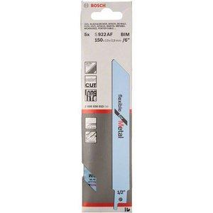 5 Panze pentru fierastraie sabie, tip S 922 AF Flexibile