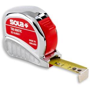Ruleta SOLA TRI-MATIC TM 10, 10m, clasa de precizie 1