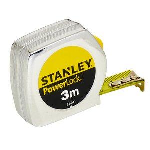 Ruleta STANLEY PowerLock carcasa metalica, 3m