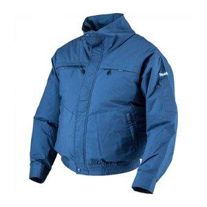 Geaca Makita cu ventilatie si suport baterii, XL, albastra