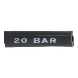 Furtun PVC flexibil cu insertie negru 6x14 mm, tip 1130/1