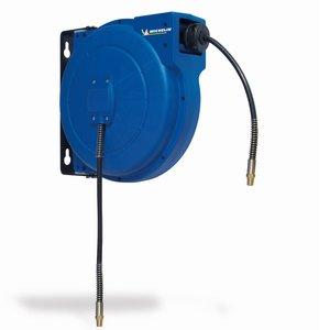 Derulator din plastic automat cu furtun, 10 m, 10x6 mm, tip 2253/1