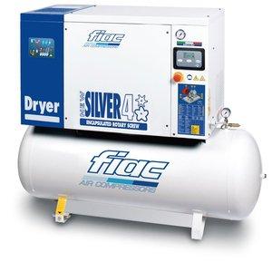 Compresor cu surub si uscator tip NEW SILVER D 4/200, 10 bar