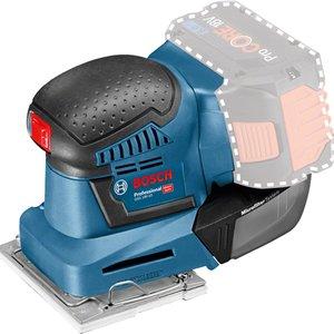 Slefuitor cu vibratii compatibil cu acumulatori tip GSS 18V-10 UNI (SOLO)