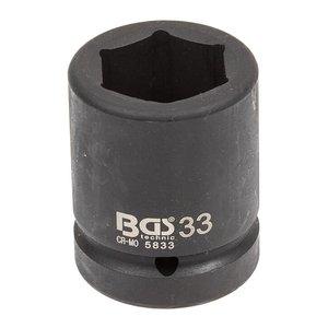 Cheie tubulara de impact, 33mm, 1