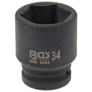 Cheie tubulara de impact, 34mm, 3/4
