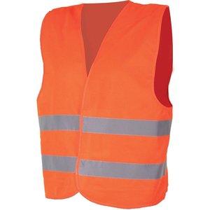 Vesta reflectorizanta portocalie, marimea L-XXXL