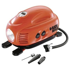 Compresor auto 12 V, 8 bar, tip ASI200-XJ  Black&Decker