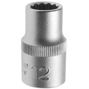 Cheie tubulara dublu hexagon, 12mm, 1/2