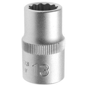 Cheie tubulara dublu hexagon, 13mm, 1/2