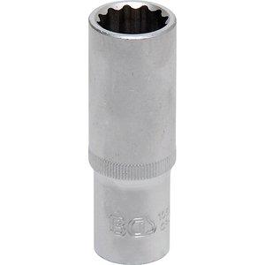 Cheie tubulara lunga dublu hexagon, 18mm, 1/2