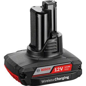 Acumulator Bosch GBA 12V 2.5 Ah, incarcare wireless