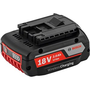 Acumulator Bosch GBA 18V 2.0 Ah, incarcare wireless