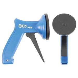 Ventuza mini pentru o mana, ABS, 70 mm