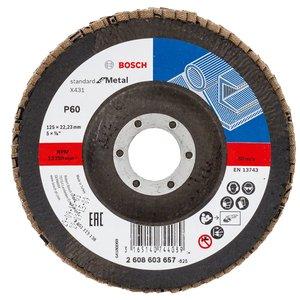 Disc slefuire evantai degajare X431, 125 mm, G60