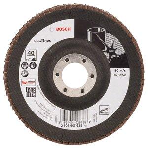 Disc slefuire evantai INOX, 125 mm, G60