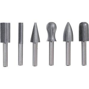 Set 6 freze HSS pentru metal / plastic
