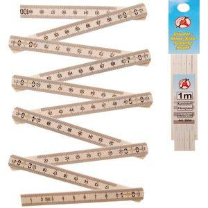 Metru plabil, 1 m, 10 segmente