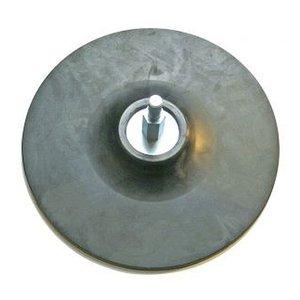 Taler slefuire din cauciuc, 125 mm