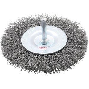 Perie disc pentru masina gaurit, 100 mm
