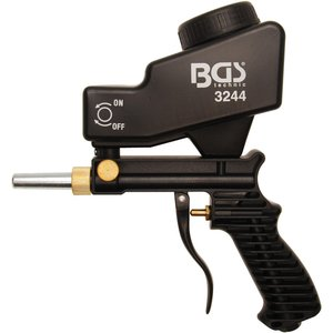 Pistol de sablat cu rezervor superior