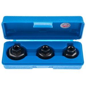 Set 3 capace pentru montat filtru de ulei