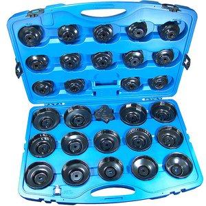 Set capace pentru montat filtre de ulei, 30 piese