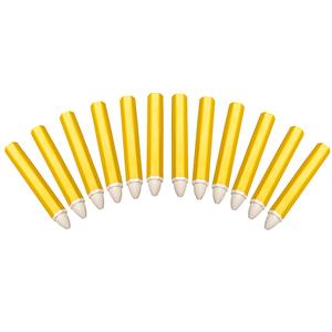 Set 12 markere pentru anvelope, albe