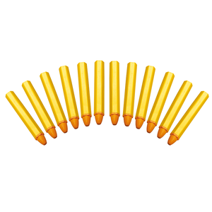 Set 12 markere pentru anvelope, galbene