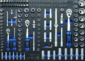 Organizator pentru carucior cu 192 chei Pro Torque, 3/3 sertar