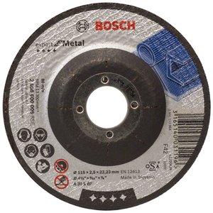 Disc taiere metal, cu degajare, 115x22.2x2.5 mm