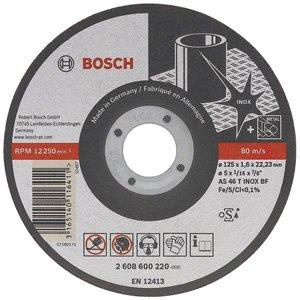 Disc taiere inox Rapido Long Life, drept, 115x22.2x1.0 mm