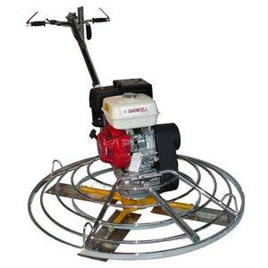 Elicopter pentru finisat beton BARIKELL 4x120 Profesional, motor Honda GX390, 13CP