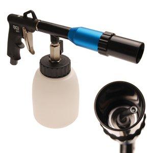 Pistol de spalat-suflat cu duza rotativa pentru tapiterii auto tip Tornador
