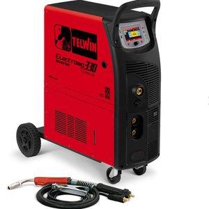 Invertor de sudura tip ELECTROMIG 330 WAVE 400V + ACC TELWIN