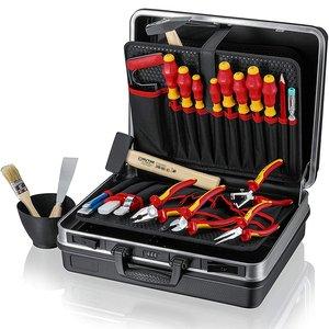 Trusa 24 scule electrician KNIPEX, izolate VDE 1000V