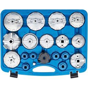 Set capace pentru montat filtre de ulei, 19 piese