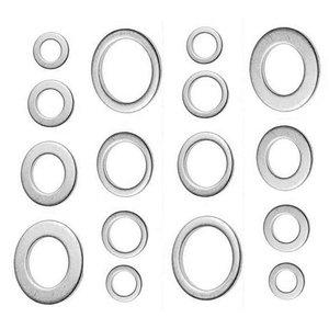 Set inele de etansare din aluminiu, pentru buson golire ulei, 300 buc., metrice