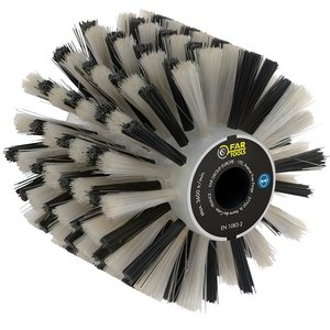 Perie fire din plastic, pentru slefuitor / restaurator REX - Energybrush
