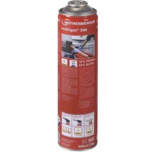 Butelie de gaz unica folosinta, MULTIGAS 300, filet 7/16