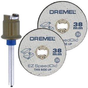 Set 2 discuri taiere Dremel SpeedClic SC406